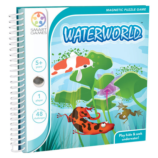 Smart Games Waterworld Magnetic Travel Game Cover