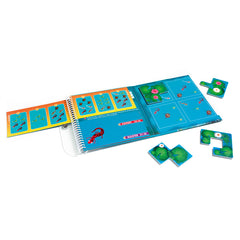 Smart Games Waterworld Magnetic Travel Game Contents