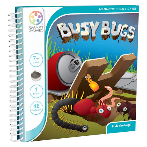 Smart Games Busy Bugs Magnetic Travel Game Cover