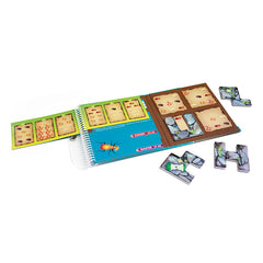 Smart Games Busy Bugs Magnetic Travel Game Contents