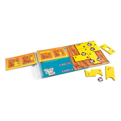 Smart Games Brain Cheeser Magnetic Travel Game Contents