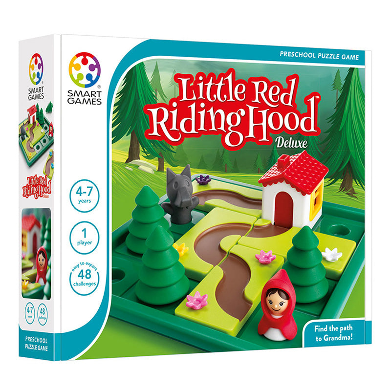 Smart Games Little Red Riding Hood Deluxe Single Player Multi Level Logic Puzzle Challenge