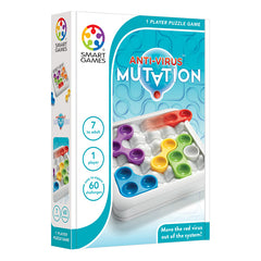 Smart Games Anti-Virus Mutation Single Player Multi Level Strategy Game Packaging