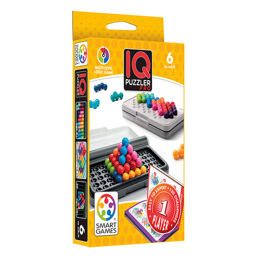 Smart Games IQ Puzzler Pro Single Player Multi Level Logic Puzzle Challenge Packaging