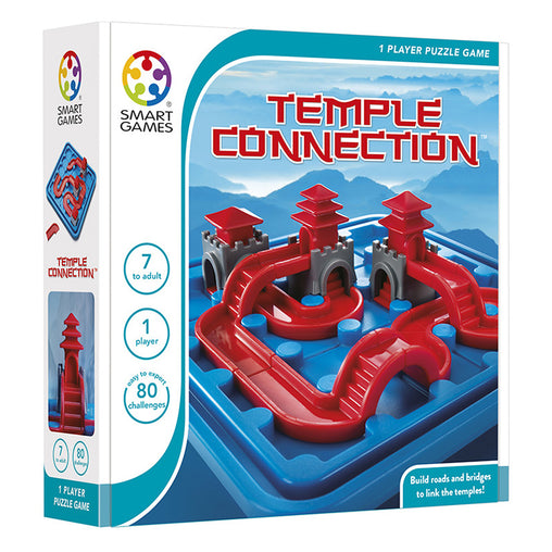 Smart Games Temple Connection Single Player Multi Level Logic Puzzle Challenge