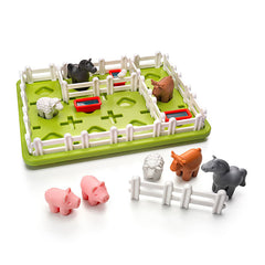 Smart Games Smart Farmer Single Player Multi Level Logic Puzzle Challenge Pieces