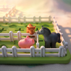 Smart Games Smart Farmer Single Player Multi Level Logic Puzzle Challenge Pig
