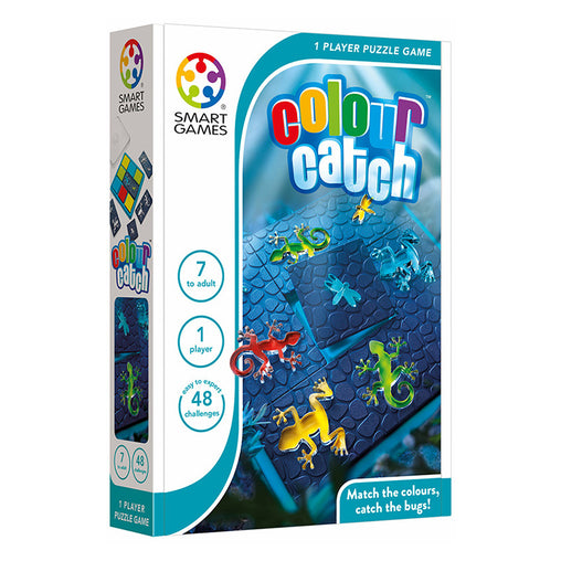Smart Games Colour Catch Single Player Multi Level Strategy Game Packaging