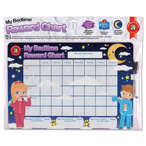 Learning Can Be Fun Reward Chart My Bedtime