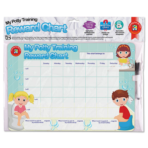 Learning Can Be Fun Reward Chart My Potty Training