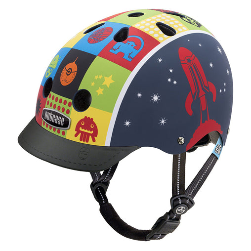 Nutcase Helmets Little Nutty Space Cadet Matte Helmet