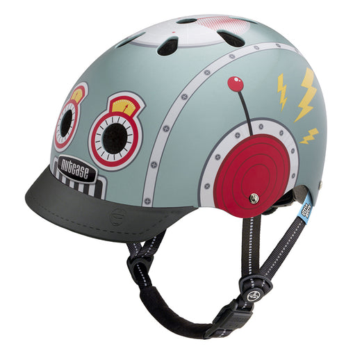 Nutcase Helmets Little Nutty Tin Robot Helmet