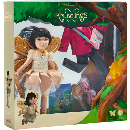 Kathe Kruse Kruselings Luna Doll Deluxe Set Packaging
