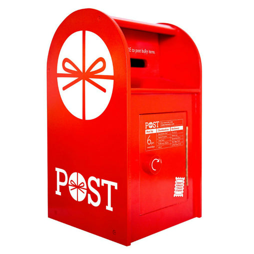 Make Me Iconic Wooden Australian Post Box with Letters