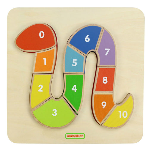 Masterkidz Numbering Snake Puzzle Board