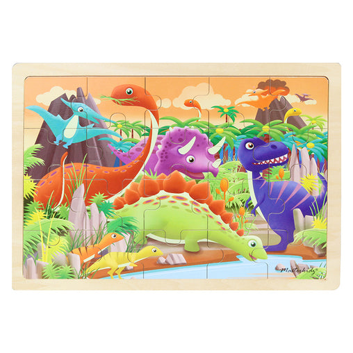 Masterkidz Jigsaw Puzzle Dinosaurs 20 Pieces Completed