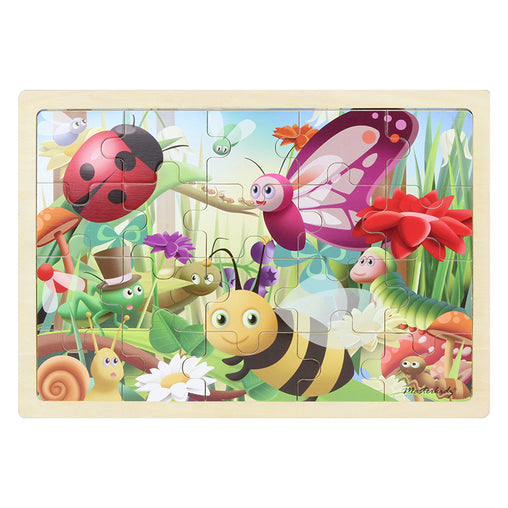 Masterkidz Jigsaw Puzzle Insects 20 Pieces Completed