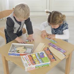 Masterkidz Wooden Learning Puzzles Sequencing