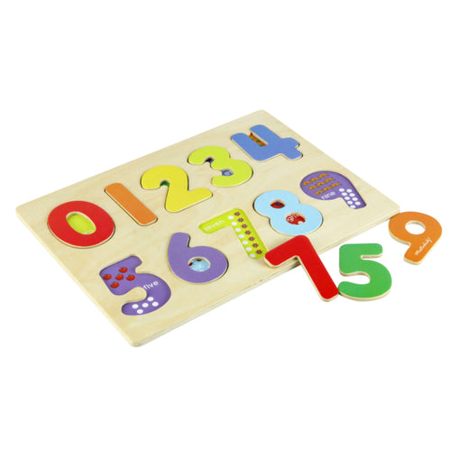 Masterkidz Chunky Puzzle Numbers 10 Pieces