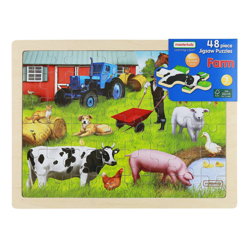 Masterkidz Jigsaw Puzzle Farm 48 Pieces Packaging