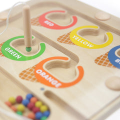 Masterkidz Colour Sorting Magnetic Maze Close Up