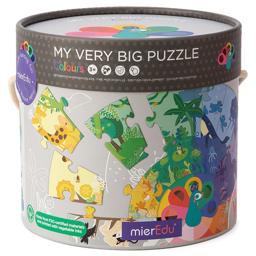 MierEdu My Very Big Puzzle Colours Box