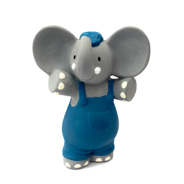 Meiya & Alvin - Alvin Elephant all Rubber Squeaker Toy