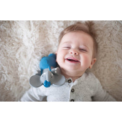 Meiya & Alvin - Alvin Elephant all Rubber Squeaker Toy Baby 2