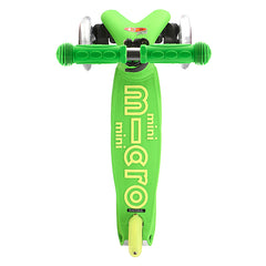 Mini Micro Scooter Deluxe Green Top View