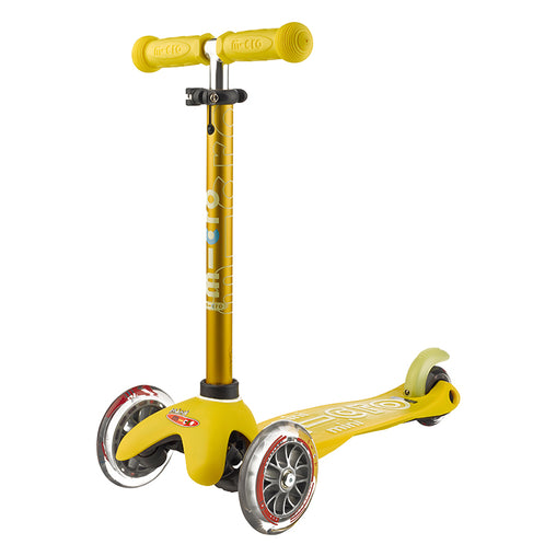 Mini Micro Scooter Deluxe Yellow