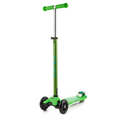 Maxi Micro Scooter Deluxe Green Handles Up