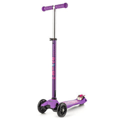 Maxi Micro Scooter Deluxe Purple Handle Bars Up