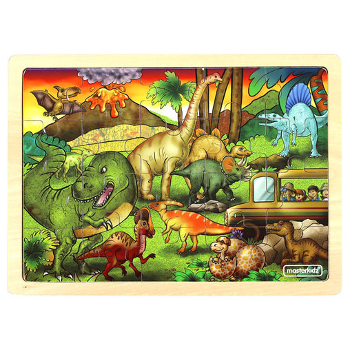 Masterkidz Jigsaw Puzzle Dinosaur Adventures 20 Pieces