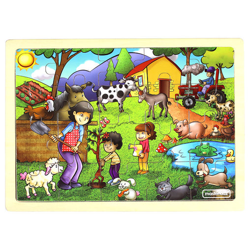 Masterkidz Jigsaw Puzzle Happy Farming 20 Pieces