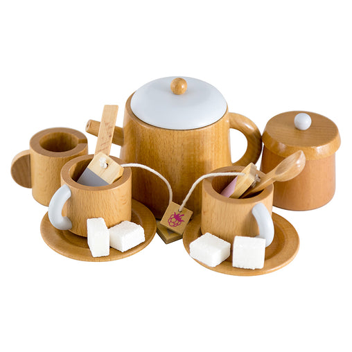 Make Me Iconic Australian Wooden Tea Set