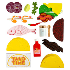Make Me Iconic Taco Time Contents