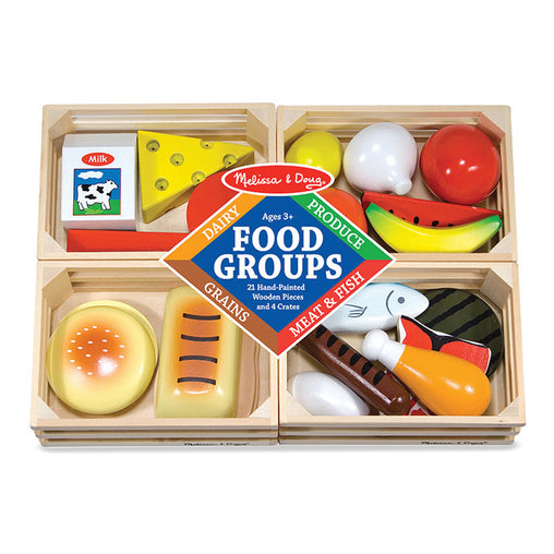 Melissa & Doug Food Groups 24 Pieces Packaging