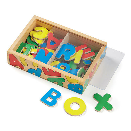 Melissa & Doug Magnets Alphabet Box of 52
