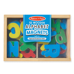 Melissa & Doug Magnets Alphabet Box of 52 Packaging
