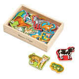 Magnets Animals Box of 20