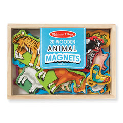 Melissa & Doug Magnets Animals Box of 20 Packaging
