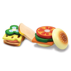 Melissa & Doug Sandwich Making Set 17 Pieces 2