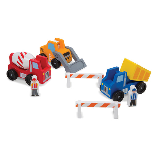 Melissa & Doug Constructions Vehicle Set