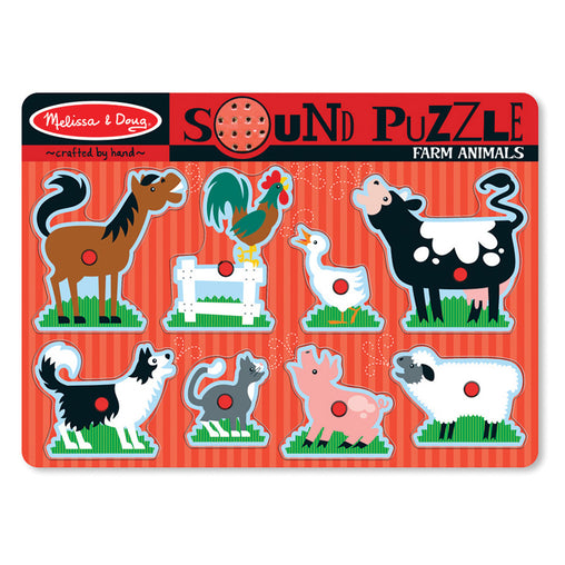 Melissa & Doug Sound Puzzle Farm Animals