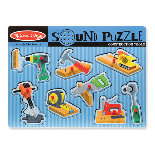 Melissa & Doug Sound Puzzle Construction Tools