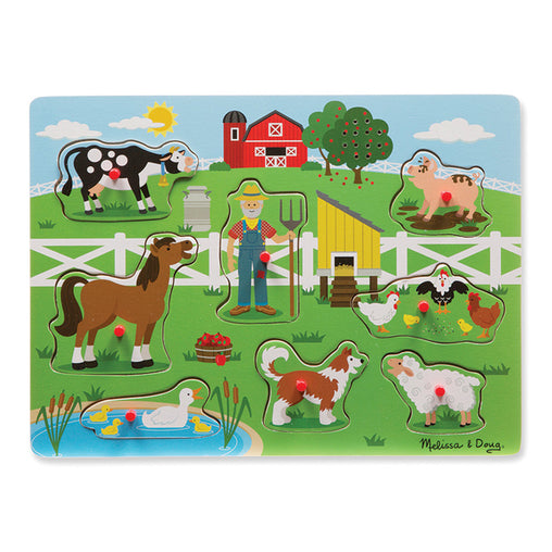 Melissa & Doug Sound Puzzle Old MacDonald's Farm