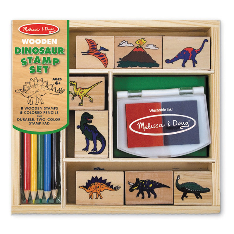 Melissa & Doug Dinosaur Stamp Set Packaging