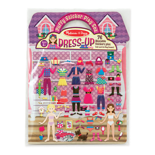 Melissa & Doug Puffy Stickers Dress Up Set