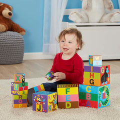 Melissa & Doug Alphabet Nesting & Stacking Blocks 4