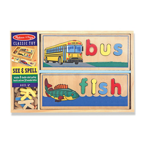 Melissa & Doug See & Spell Teaching Box